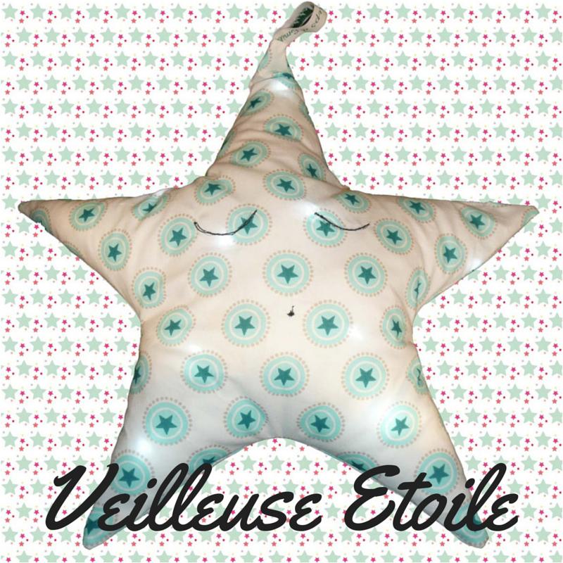 #Veilleuse nomade# Etoile#, www.lespetitsloupsdemilie.com