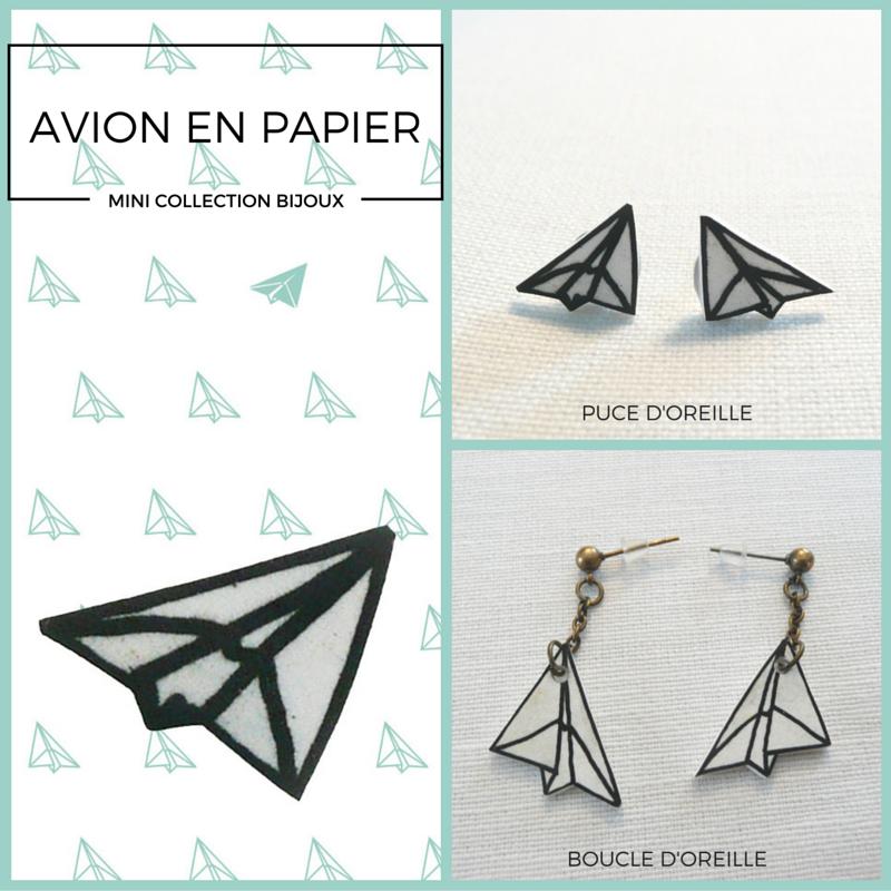 #bijoux#avion#papier#, www.lespetitsloupsdemilie.com