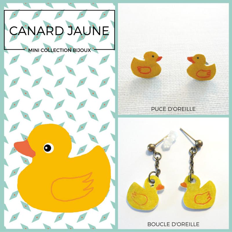 #bijoux#canard#jaune, www.lespetitsloupsdemilie.com