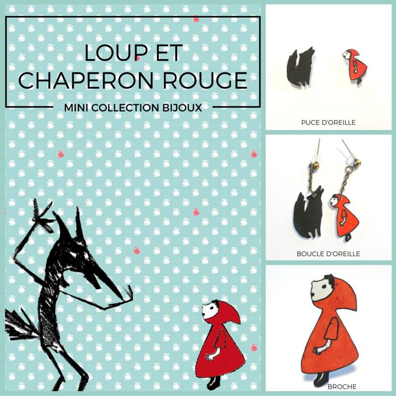 #bijoux#loup#chaperon rouge#, www.lespetitsloupsdemilie.com