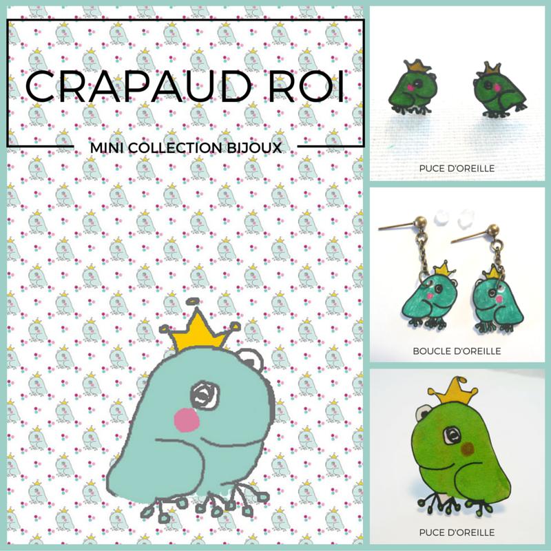 #bijoux#crapaud#roi#, www.lespetitsloupsdemilie.com