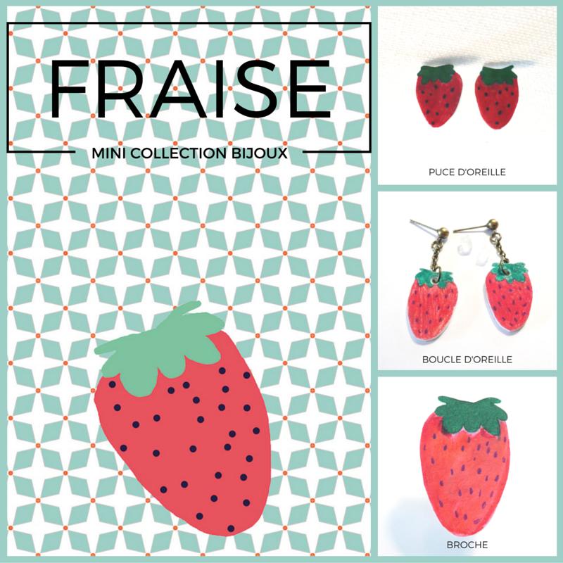 #bijoux#fraise#, www.lespetitsloupsdemilie.com