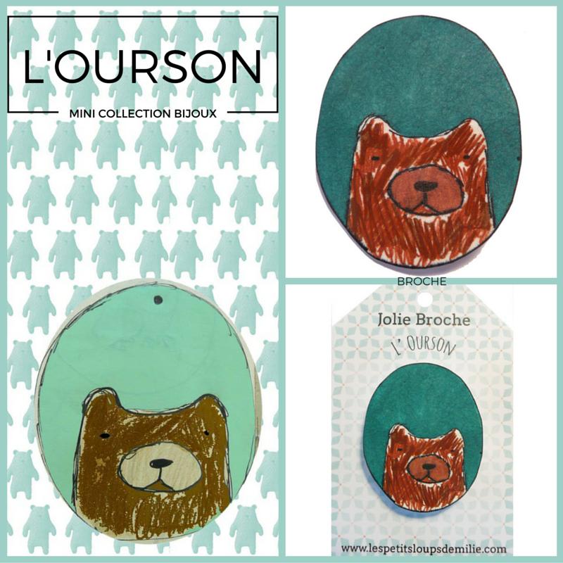 #bijoux#ourson#, www.lespetitsloupsdemilie.com