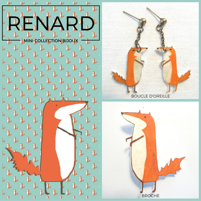 #bijoux#renard#, www.lespetitsloupsdemilie.com
